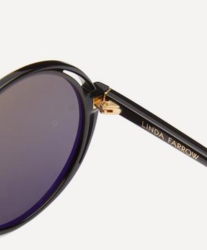 Bianca Round Acetate Sunglasses
