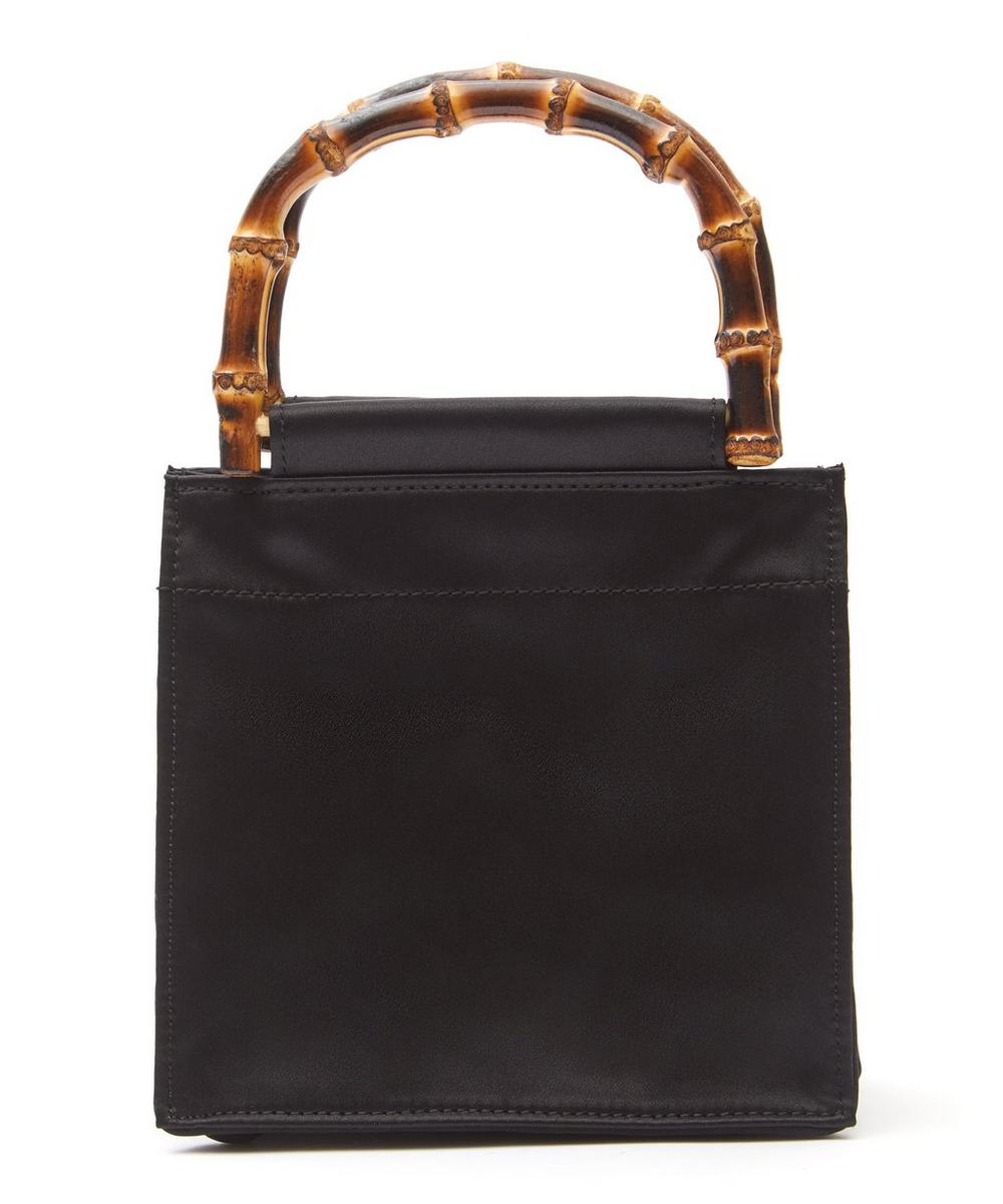 Bamboo Handle Silk Bag
