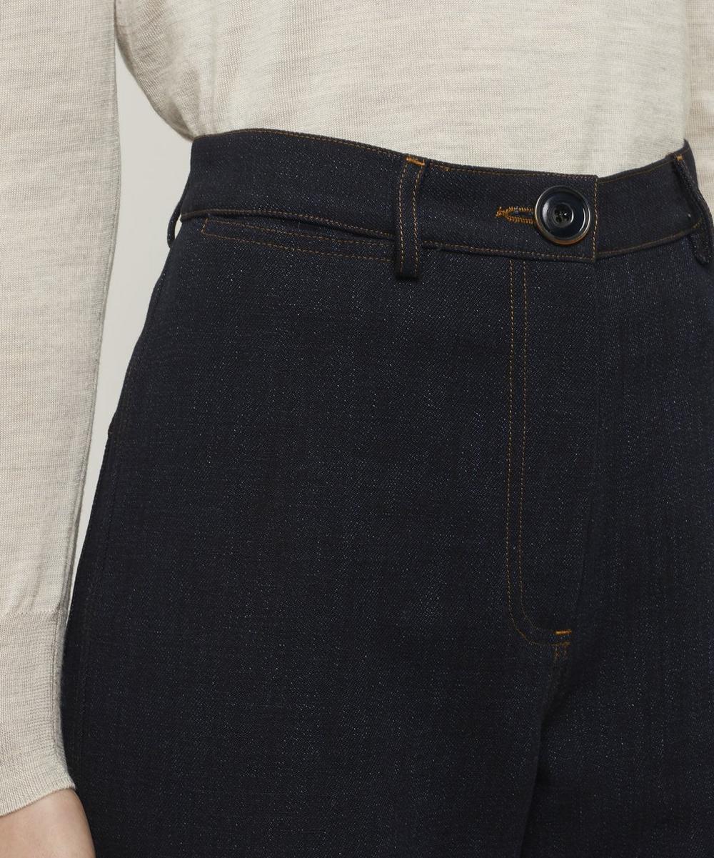 Cookie Indigo Denim Trousers