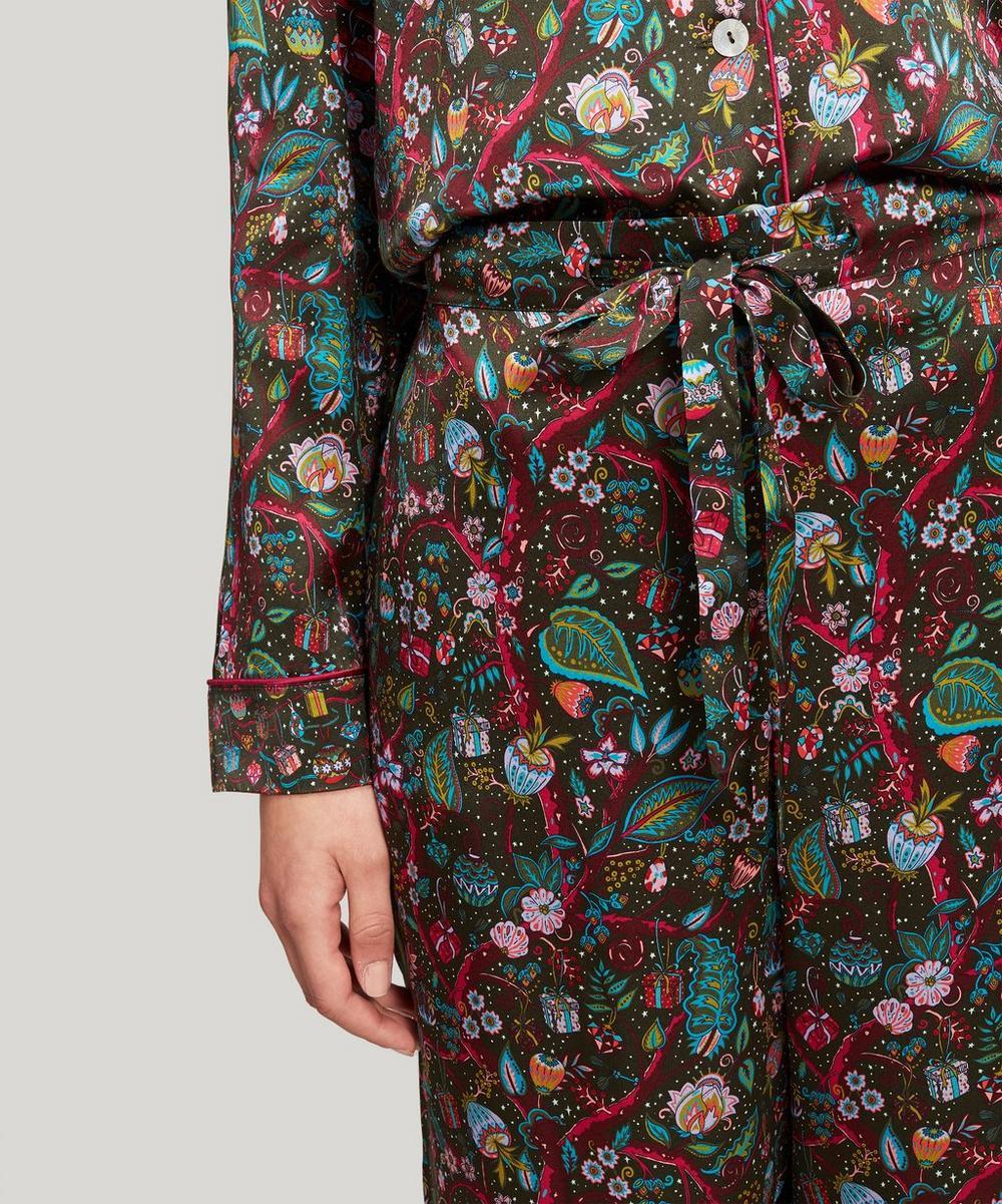 Jeweltopia Silk Charmeuse Pyjama Set