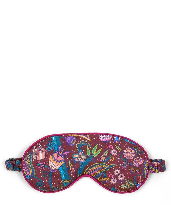 Jeweltopia Silk Charmeuse Eye Mask