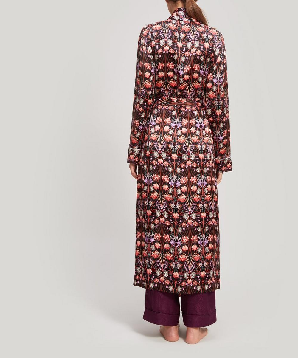 Virginia Silk Charmeuse Robe