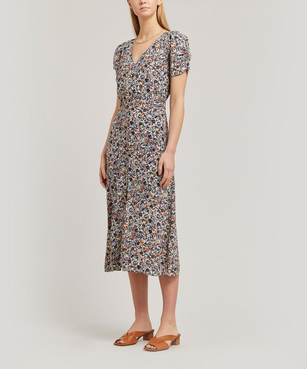 Upala Belted Midi-Dress