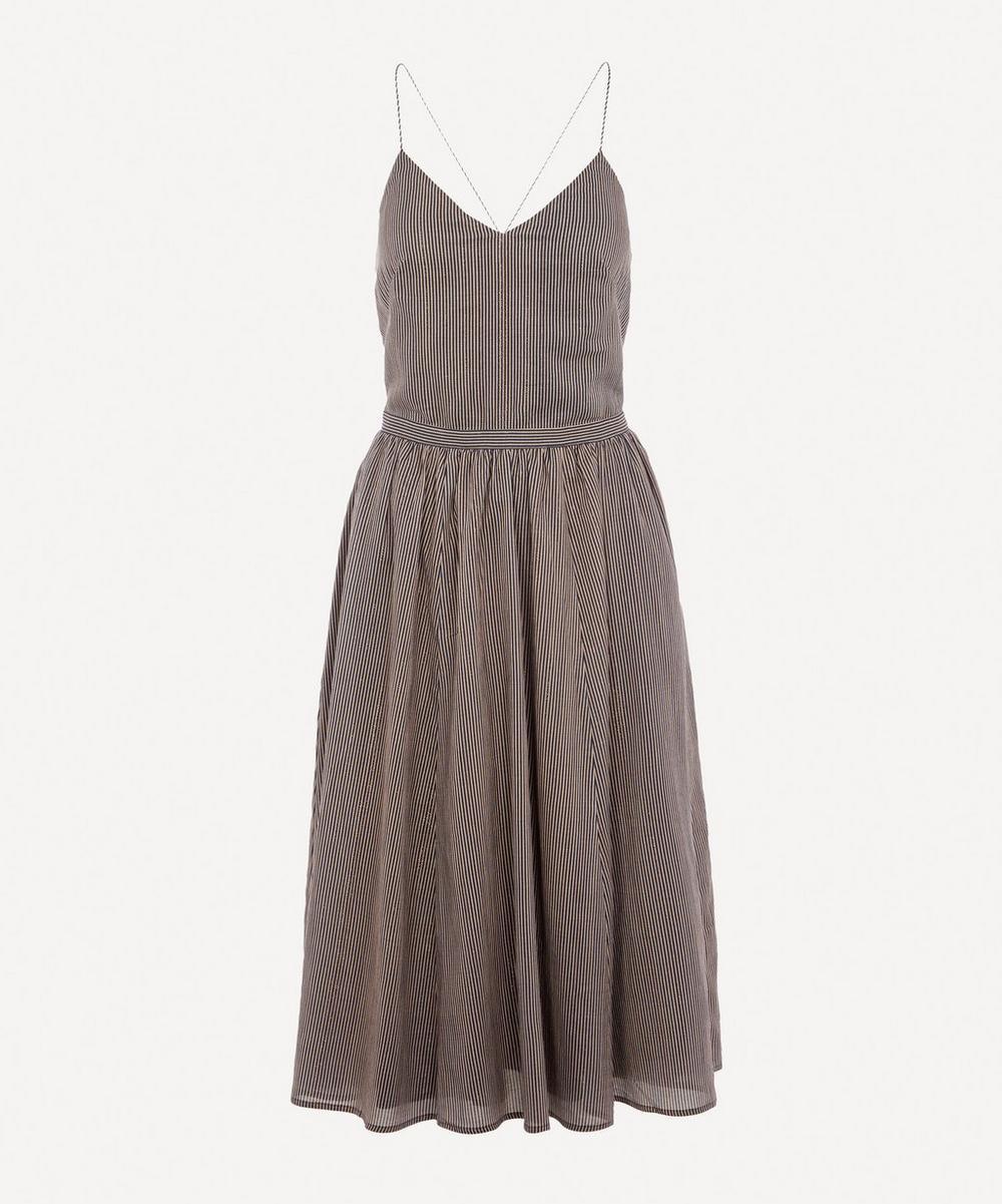Sospir Open-Backed Midi-Dress