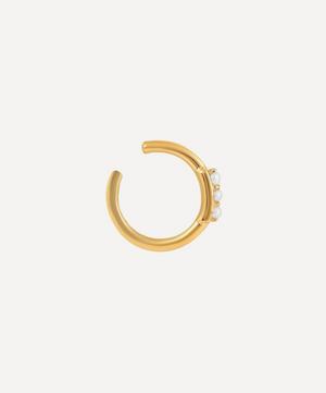 Gold-Plated Edison Pearl Ear Cuff