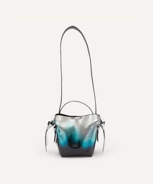 Mini Metallic Leather Cross-Body Bag