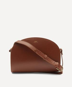 Leather Demi-Lune Bag