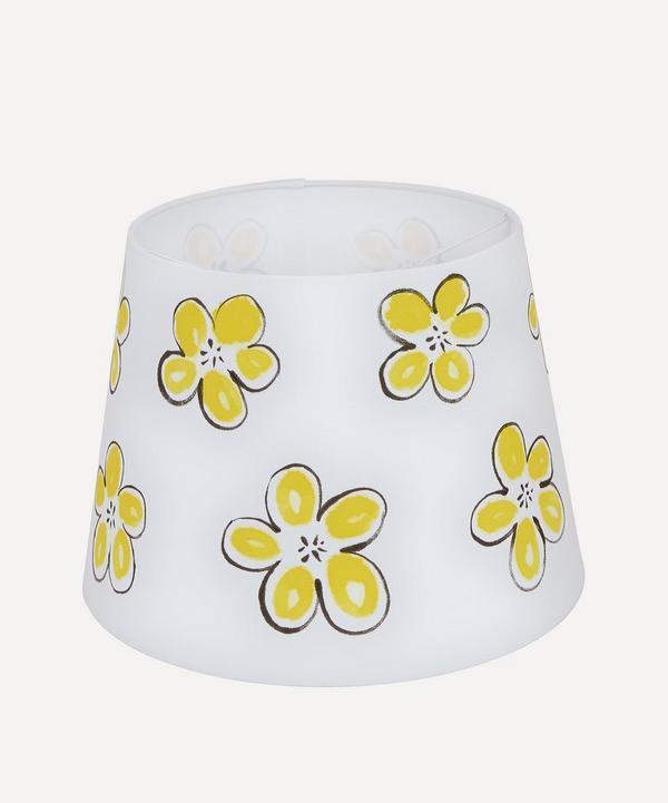 Yellow Flower Lampshade