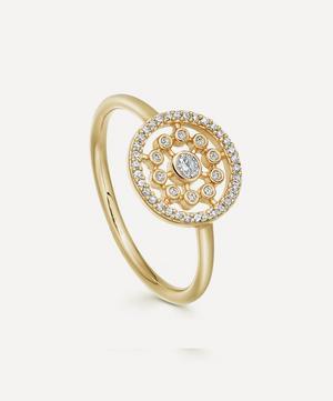 Gold Medium Icon Nova Diamond Ring