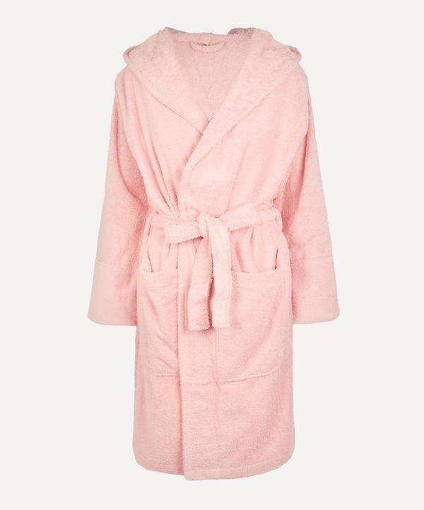 Tekla - Large Bathrobe in Stella Pink