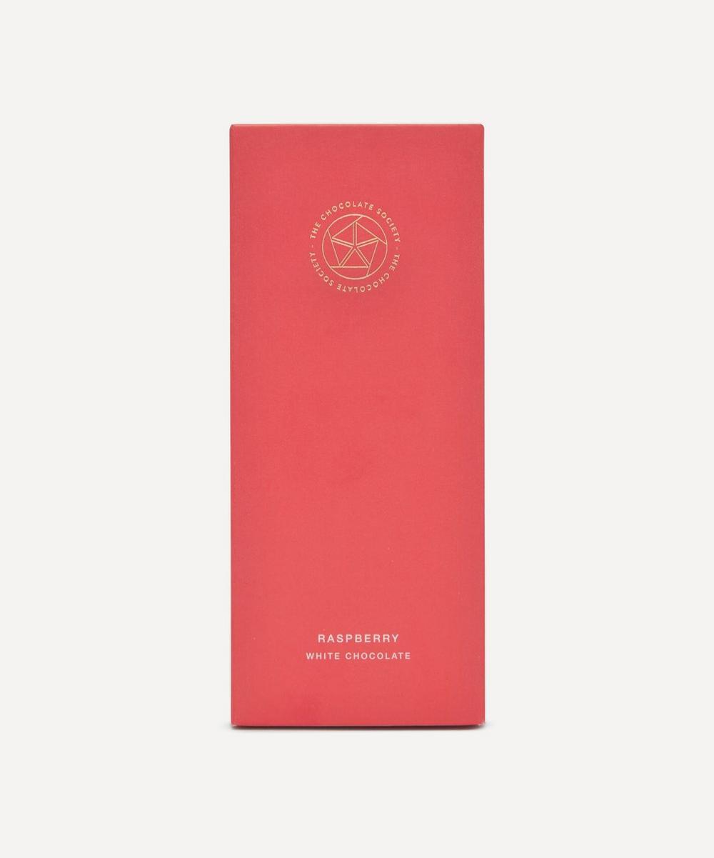 The Chocolate Society - Raspberry White Chocolate Bar 65g