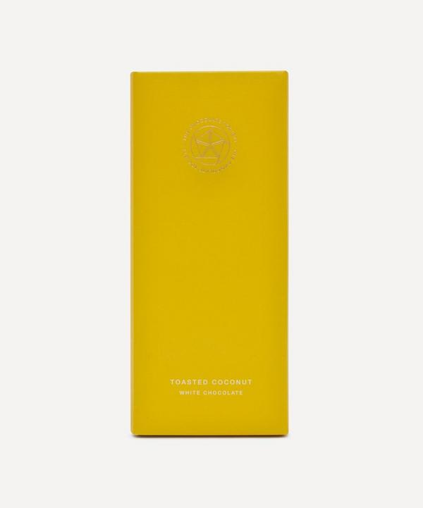 The Chocolate Society - Toasted Coconut White Chocolate Bar 65g