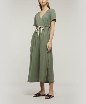 Elza Robe Tie Dress