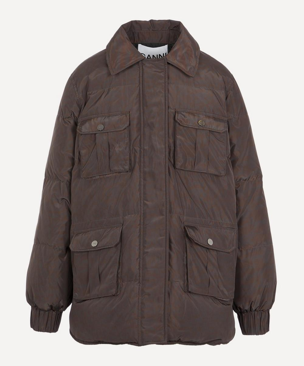 Ganni Jackets REVERSIBLE DOWN JACKET