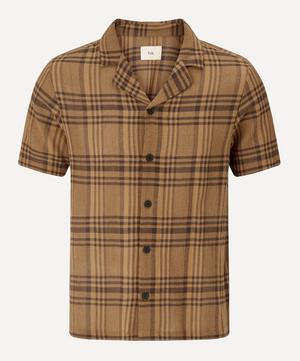 Camp Collar Short Sleeve Shirt