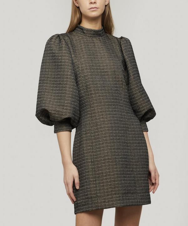 Puff Sleeve Mini-dress