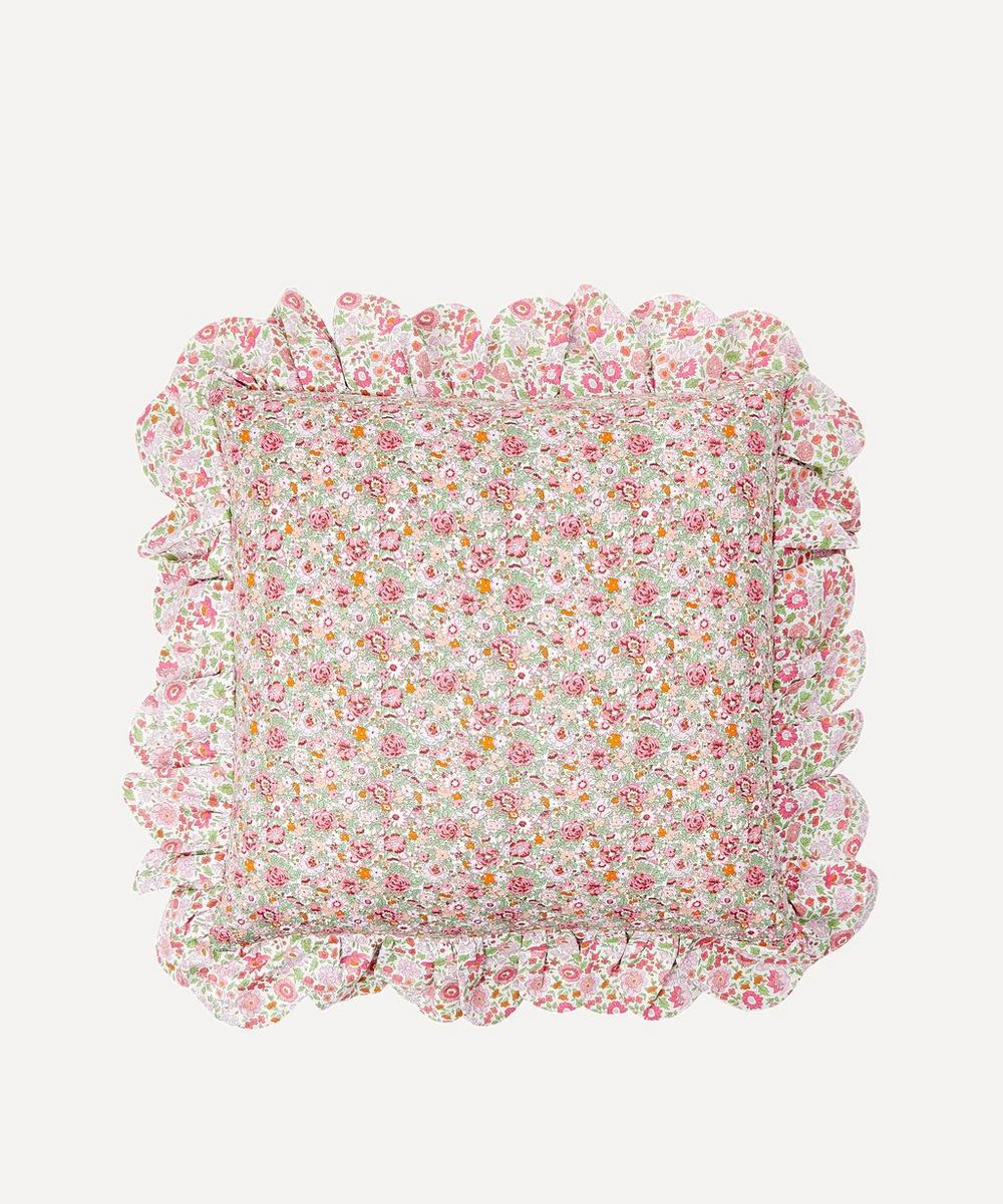 Amelie D'Anjo Scallop Frill Cushion