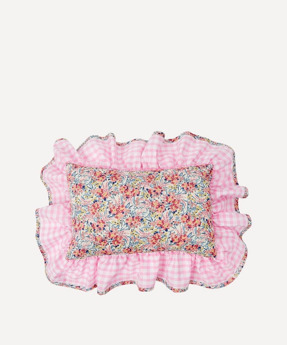 Swirling Petals Liberty Print Mini Cushion