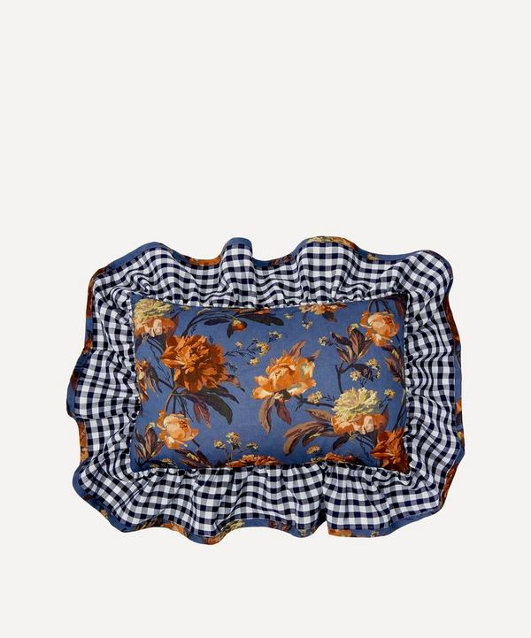 Decadent Blooms Liberty Print Mini Cushion