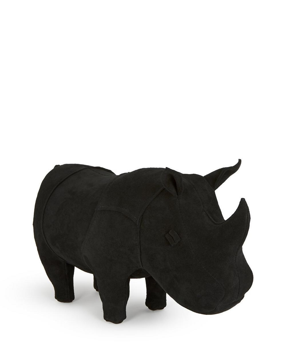 Small Suede Rhino