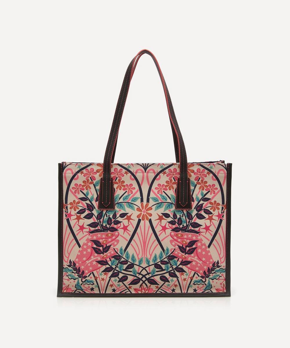 Valentine Medium Canvas Tote Bag