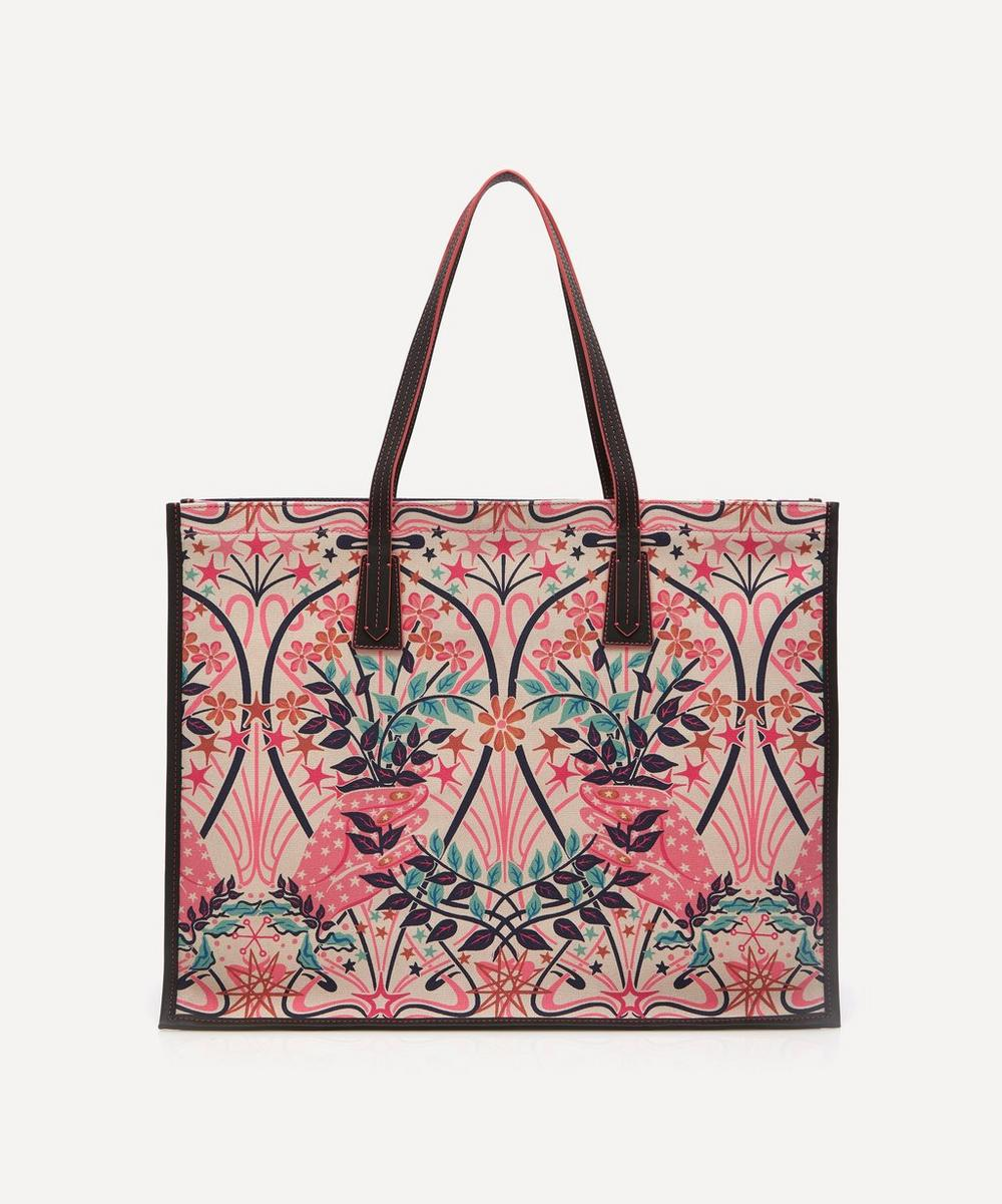 Liberty London Totes VALENTINE LARGE CANVAS TOTE BAG