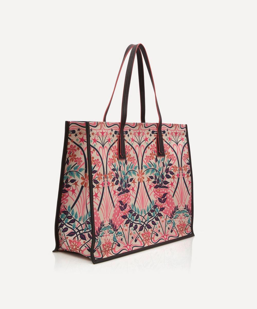 Valentine Large Canvas Tote Bag