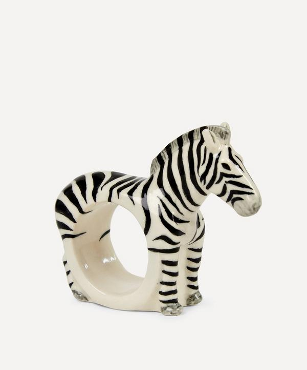 Quail - Zebra Napkin Ring