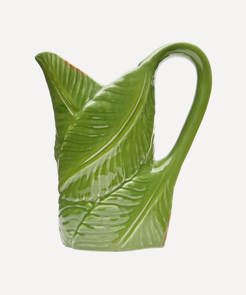 Banana Madeira Leaf Pitcher