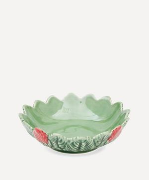 Strawberries Round Bowl