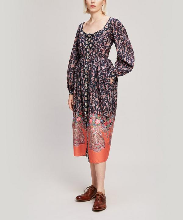 Renee Tana Lawn™ Cotton Puff Sleeve Dress