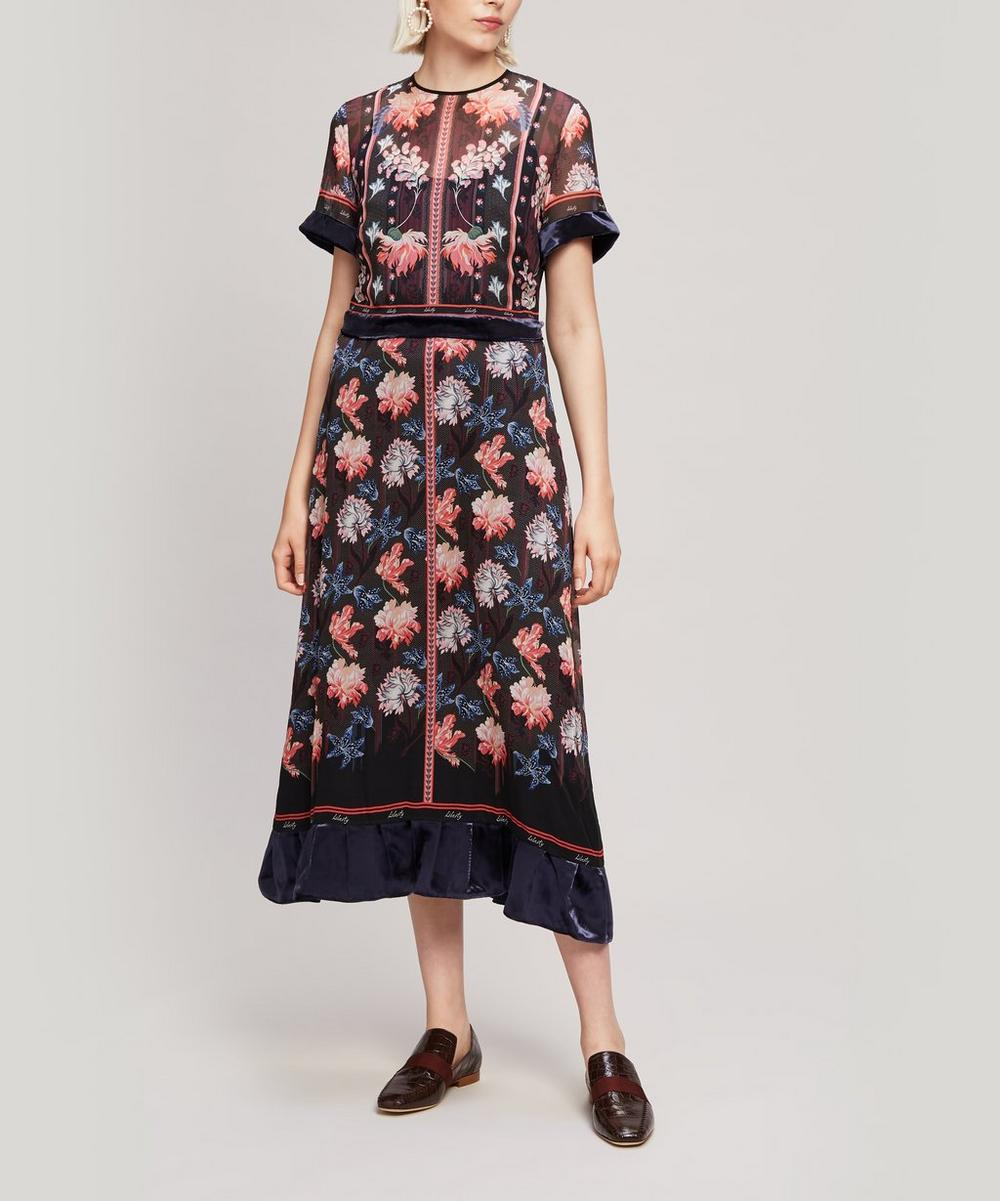 Tigerlily Georgette Midi Dress