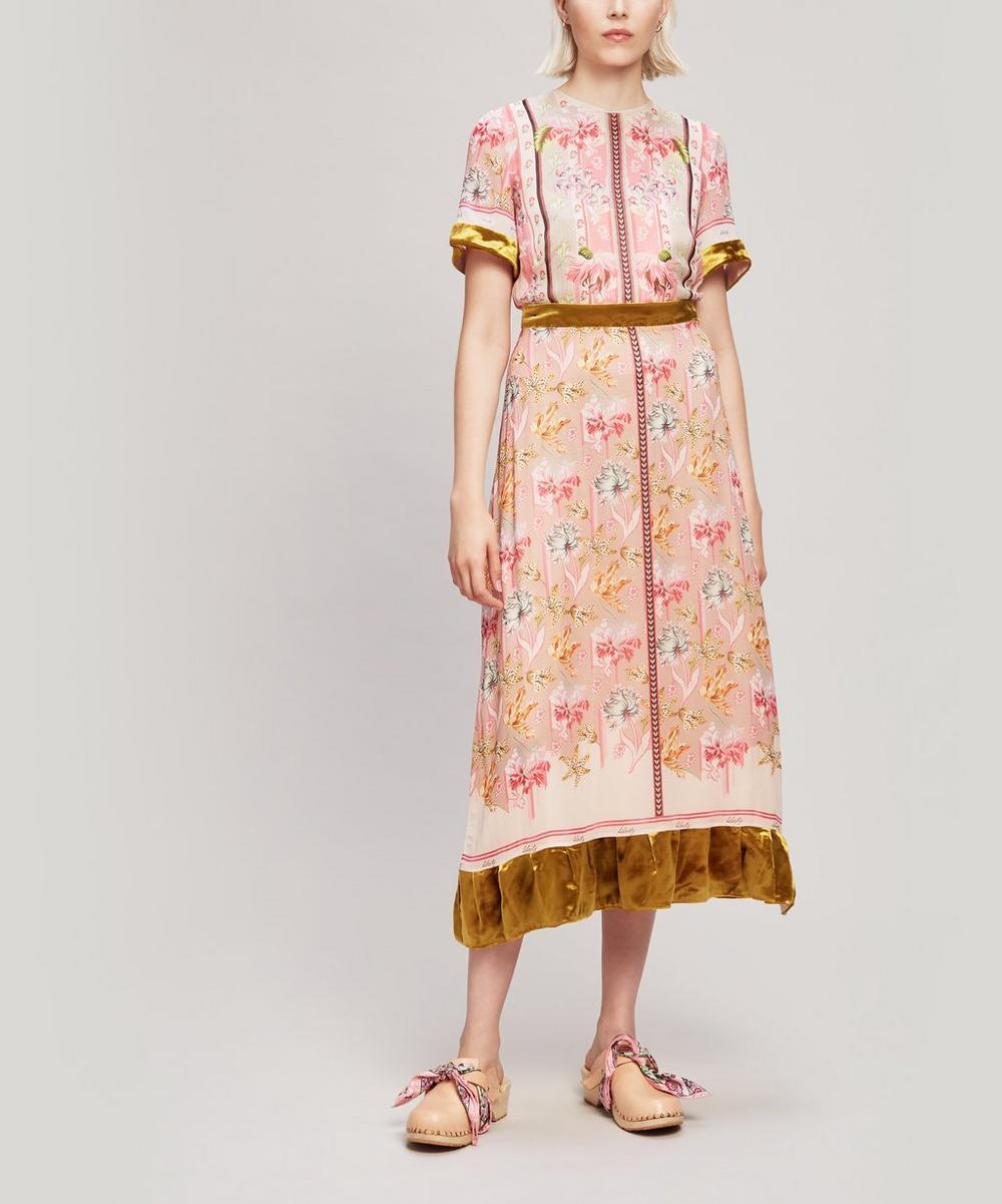 Tigerlily Georgette Midi Dress