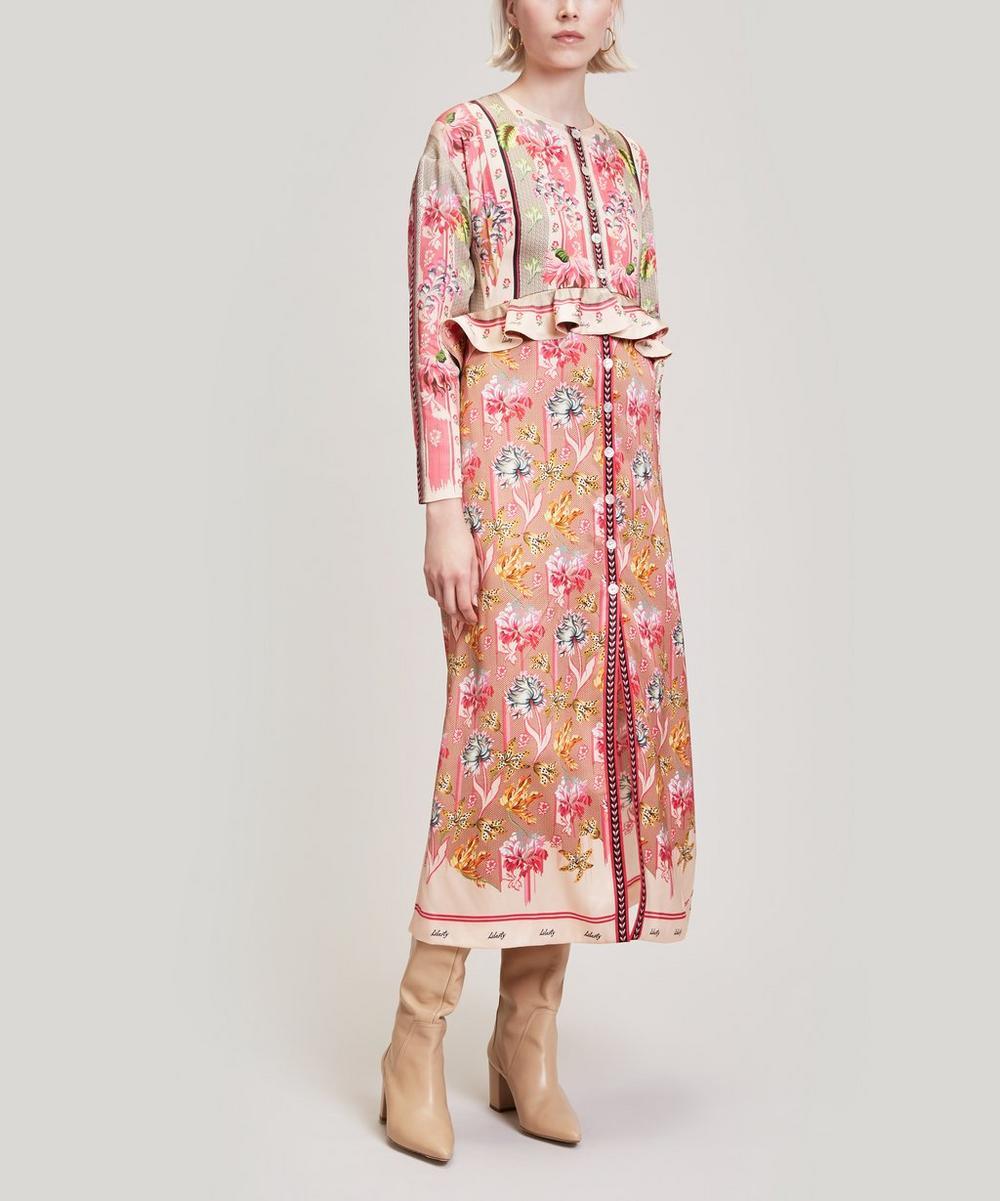 Tigerlily Satin Sleeved Dress