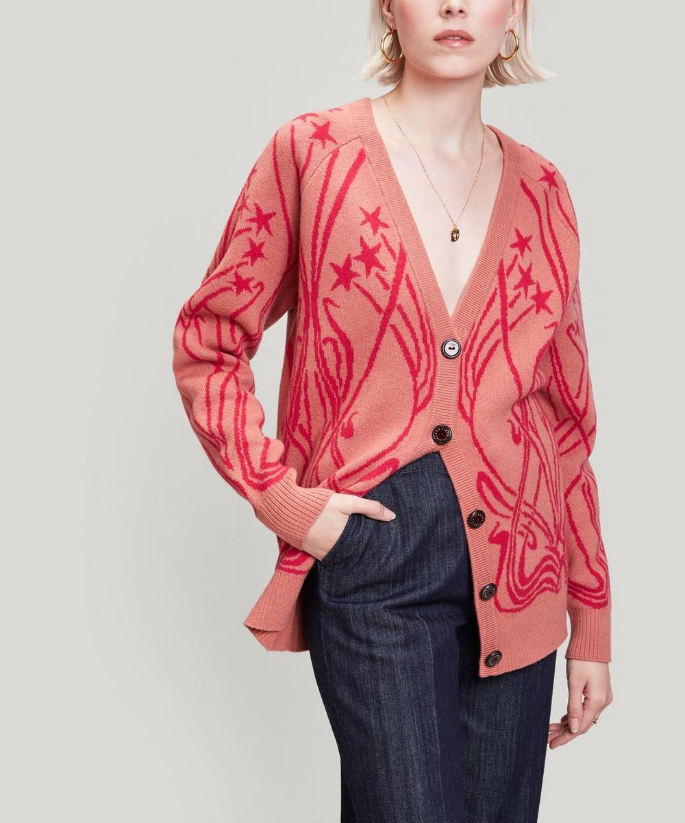 Ianthe Knit Merino Wool Cardigan