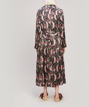 Nocturne Rita Silk Satin Dress Coat