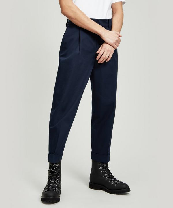 Pierre Structured Cropped Trousers