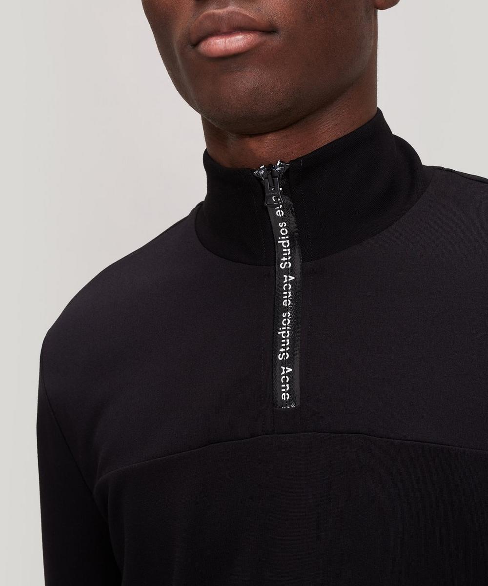 Technical Half-Zip Sweater