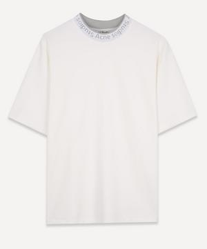 Logo Rib Neck T-Shirt
