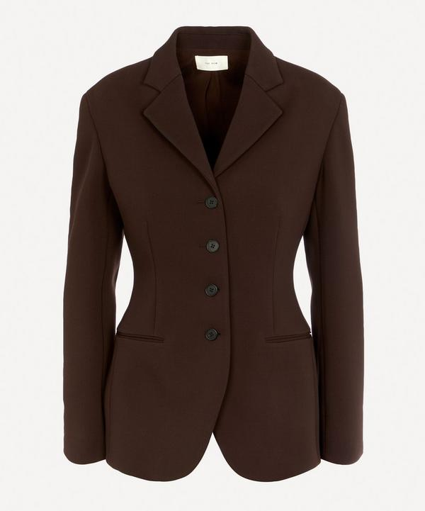 Risa Tailored Single-Breasted Jacket