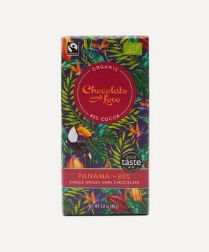 Panama 80% Dark Chocolate Bar 80g