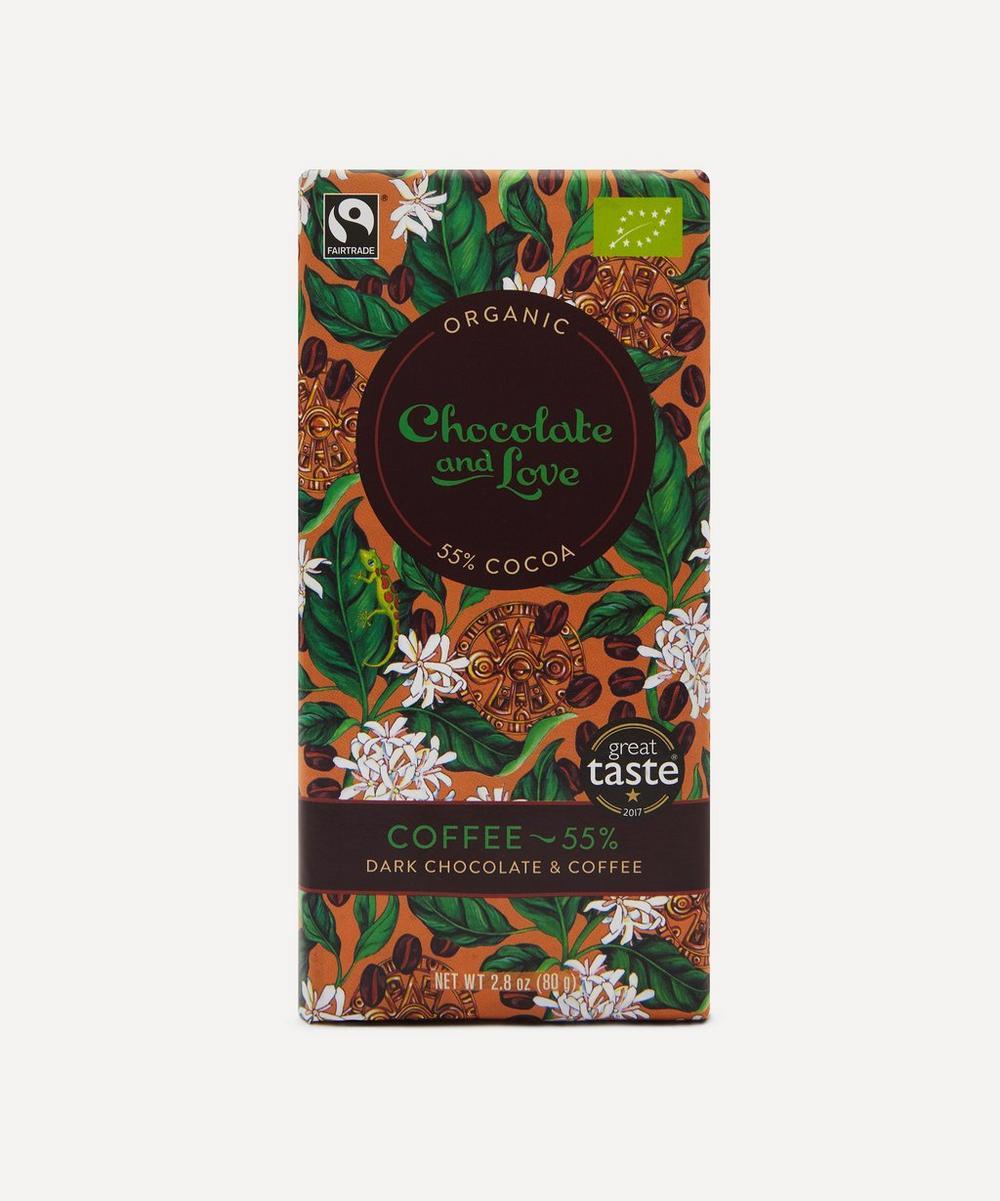 Arabica Coffee 55% Dark Chocolate Bar 80g