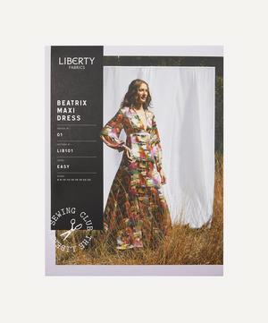 Beatrix Maxi Dress Sewing Pattern