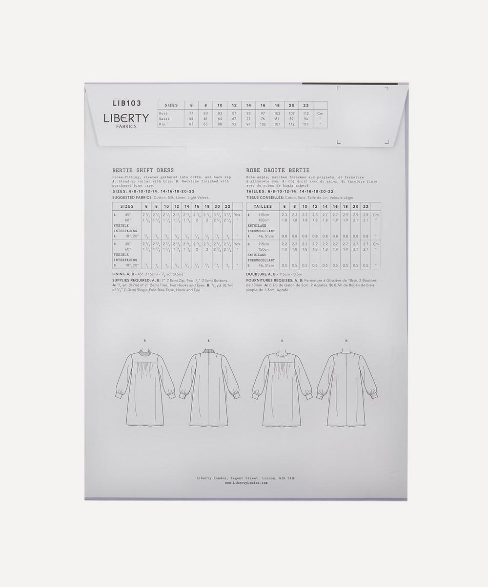 Bertie Shift Dress Sewing Pattern