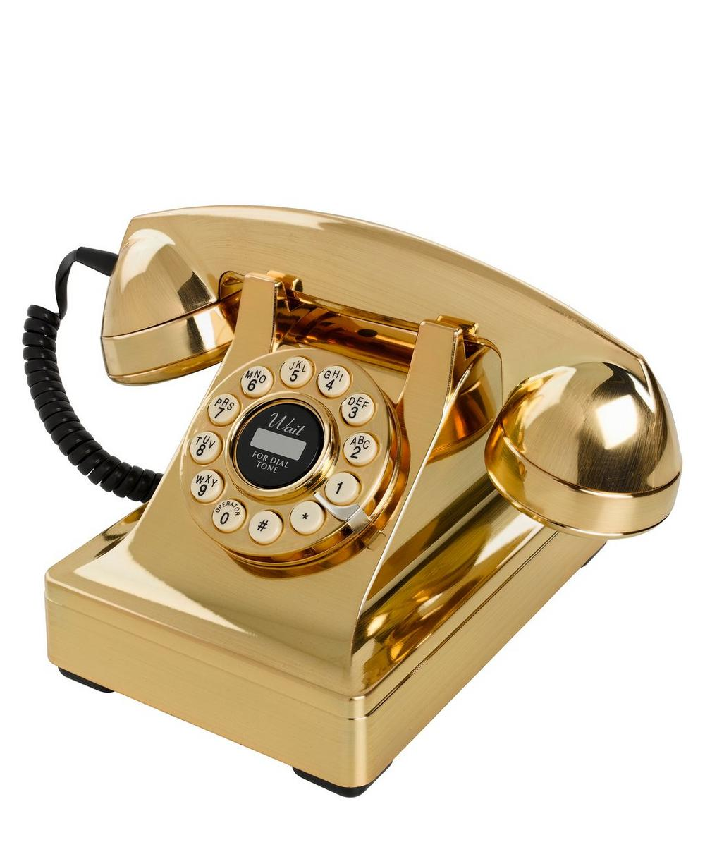 Series 302 Gold Telephone