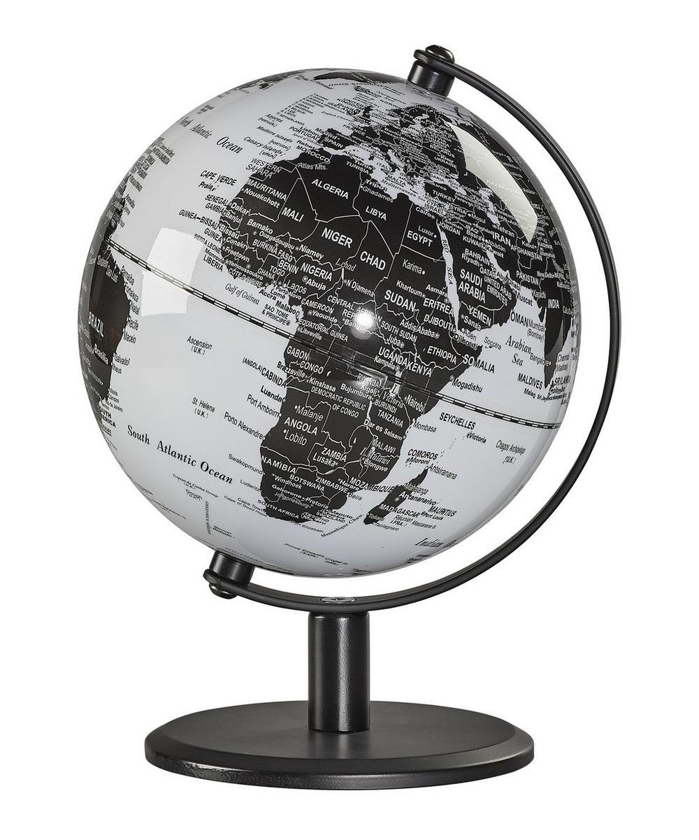 Monochrome 6 Inch Desk Globe