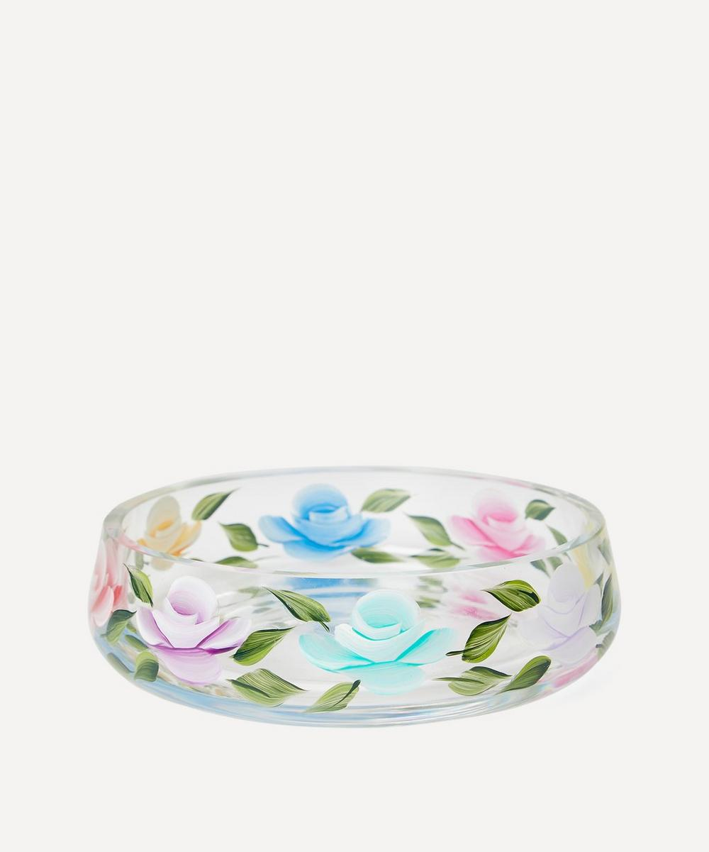 Small Hand-Painted Trinket Dish