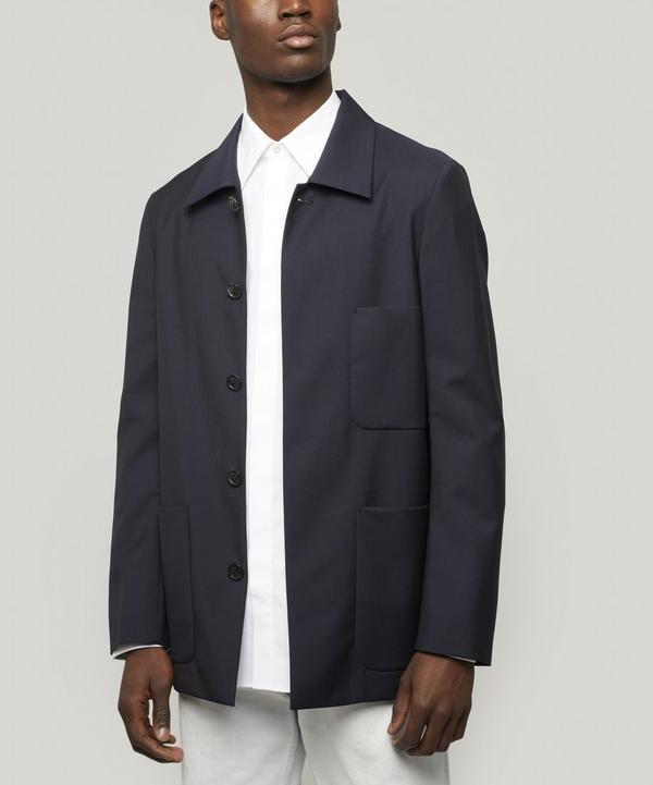 Three-Pocket Mohair Jacket
