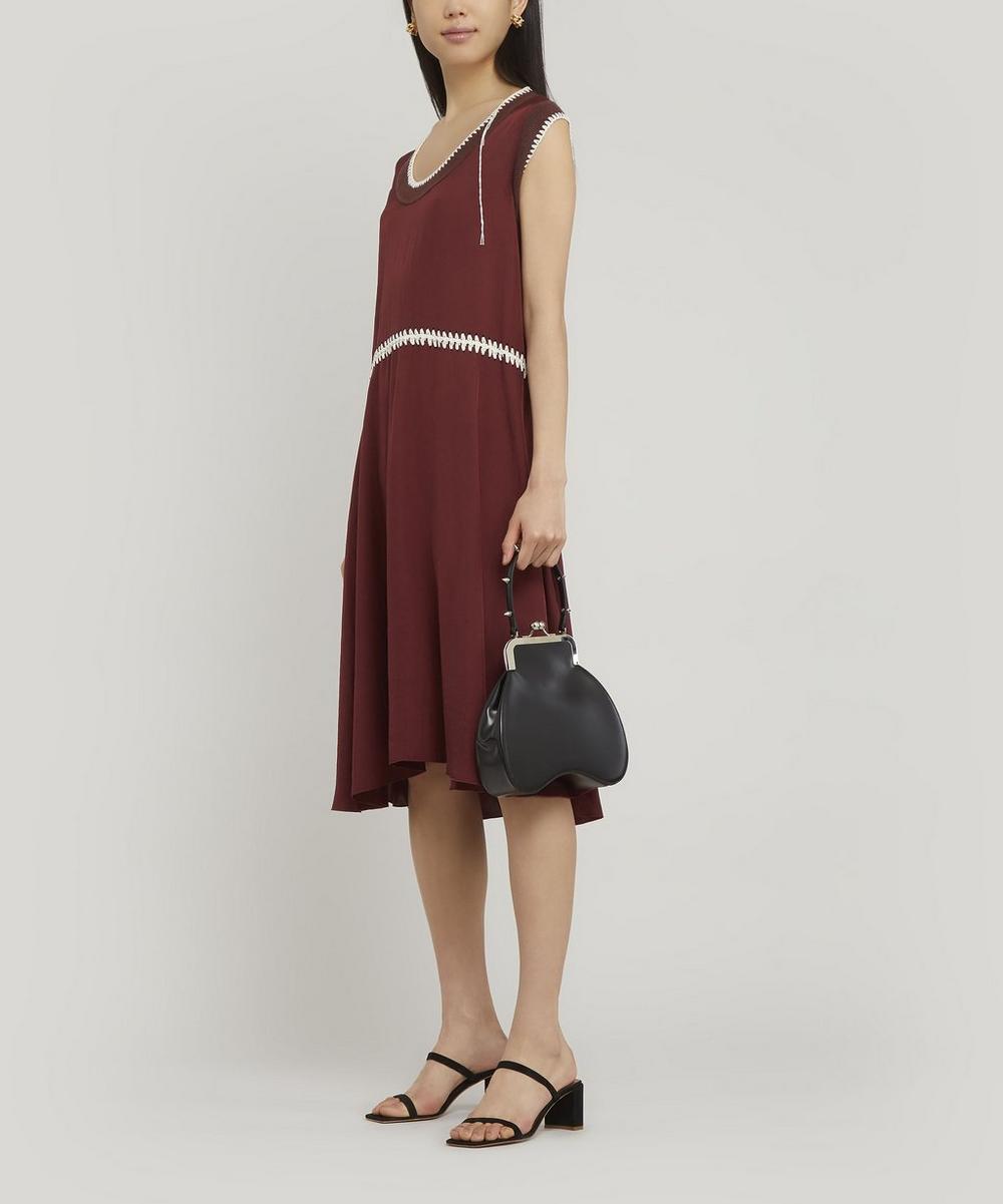 Bean Handheld Leather Bag