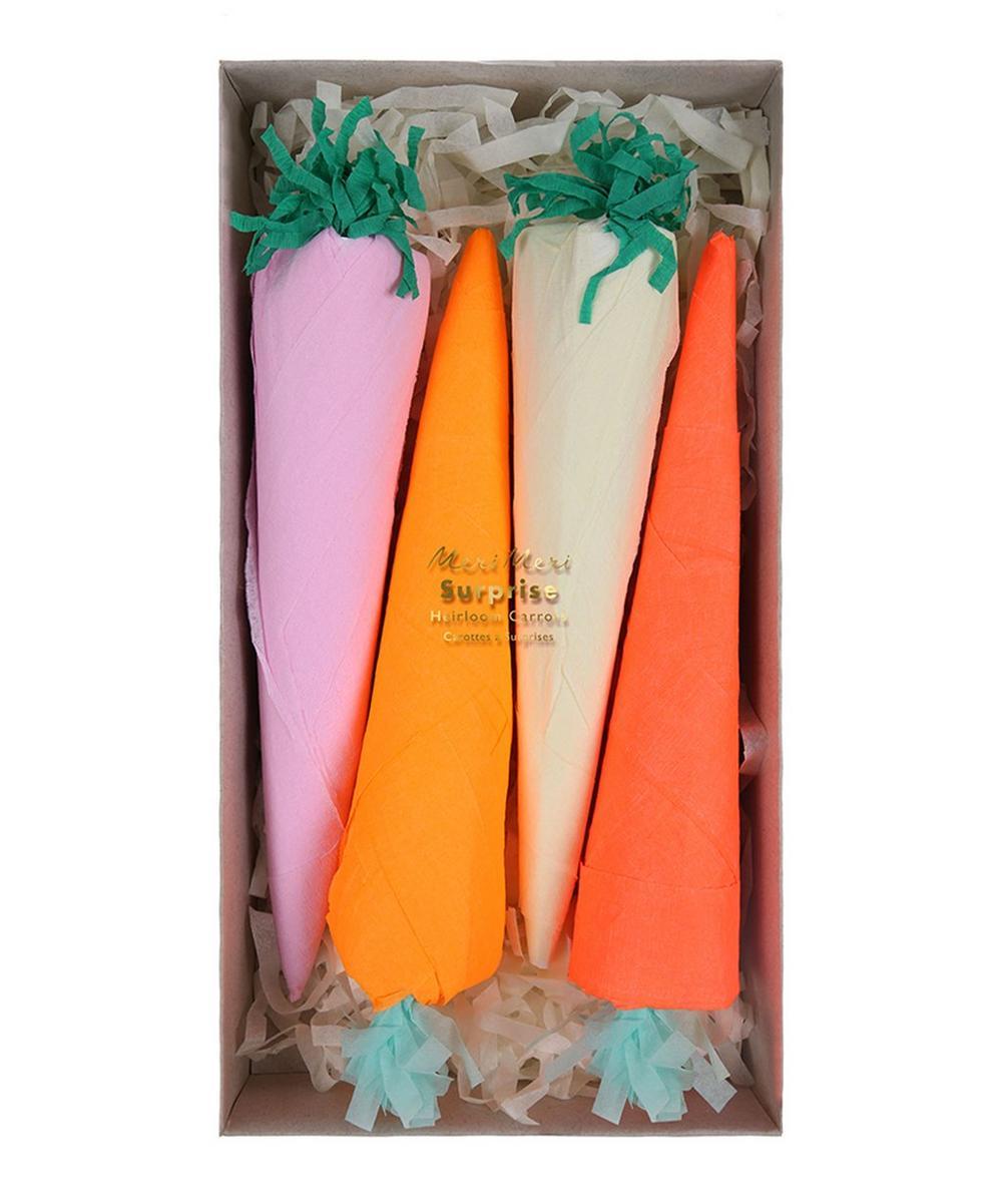 Surprise Heirloom Carrots Set of Four